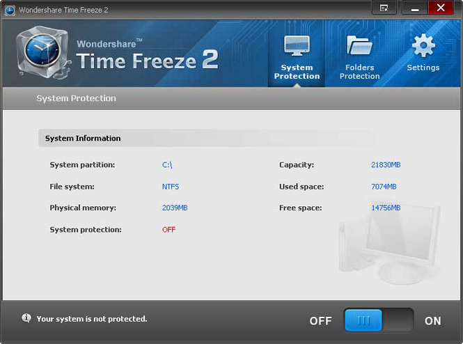 Wondershare Time Freeze Screenshot