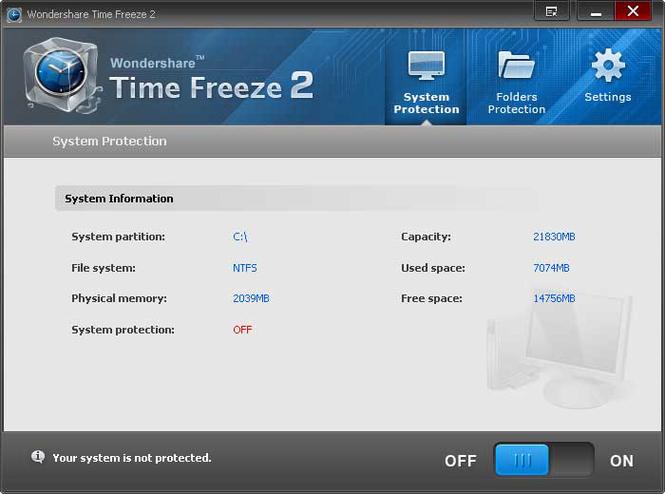 Wondershare Time Freeze Screenshot 1