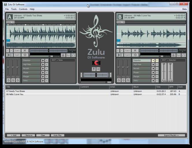Zulu DJ Software Free Screenshot 3