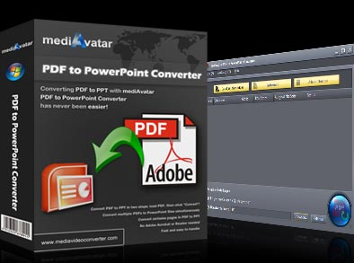 mediAvatar PDF to PowerPoint Converter Screenshot 1