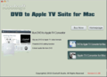 iCoolsoft DVD to Apple TV Suite for Mac 1