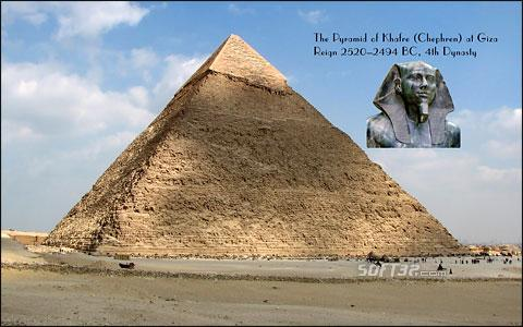 Pyramids of Egypt - Widescreen Screensaver Screenshot 2