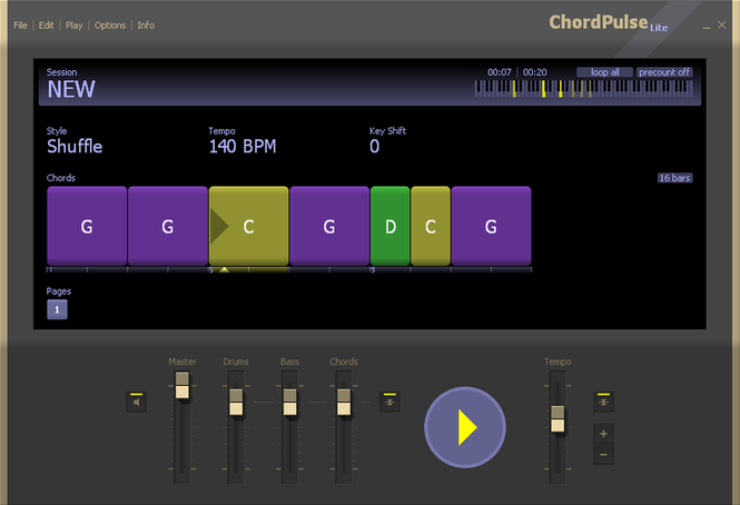 ChordPulse Lite Screenshot