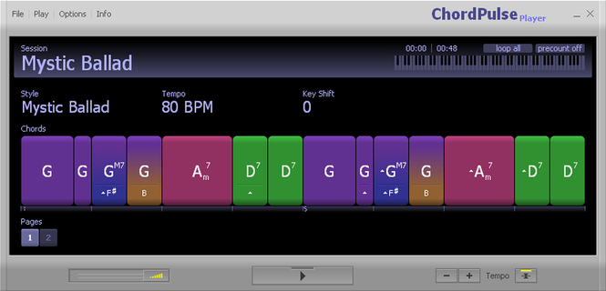 ChordPulse Player Screenshot