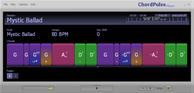 ChordPulse Player Screenshot 2