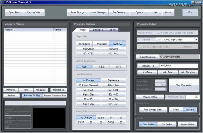 HD Stream Tools Screenshot 2