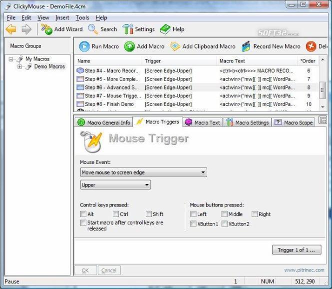 ClickyMouse Standard Edition Screenshot 2