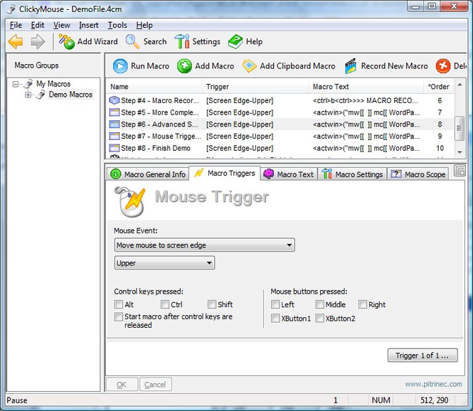 ClickyMouse Standard Edition Screenshot