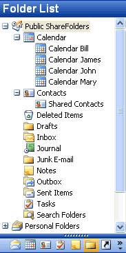 Public ShareFolder for Outlook Screenshot