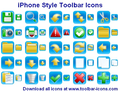 iPhone Style Toolbar Icons 1