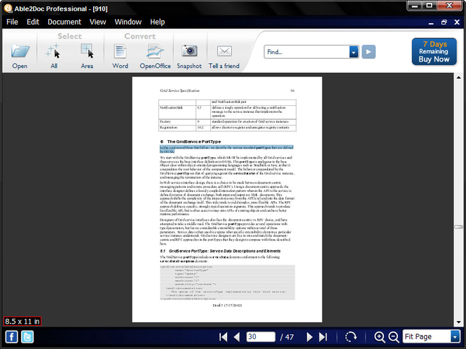 Able2Doc Professional Screenshot 1