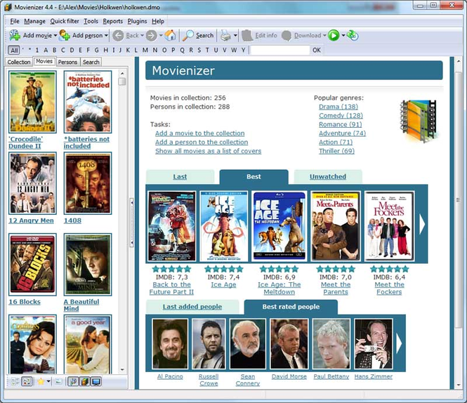 Movienizer Screenshot 1