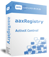 aaxRegistry Screenshot 1