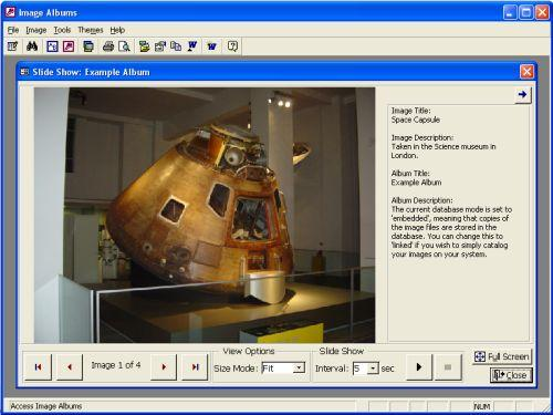 Image Albums (For Microsoft Access) Screenshot