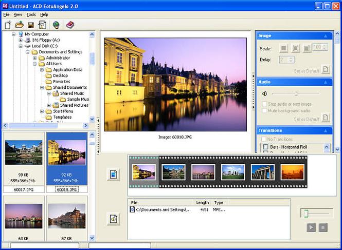 ACD FotoAngelo Screenshot