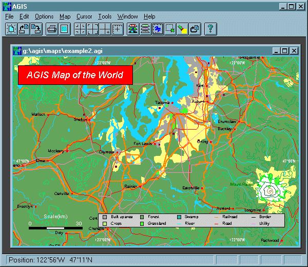 AGIS for Windows Screenshot