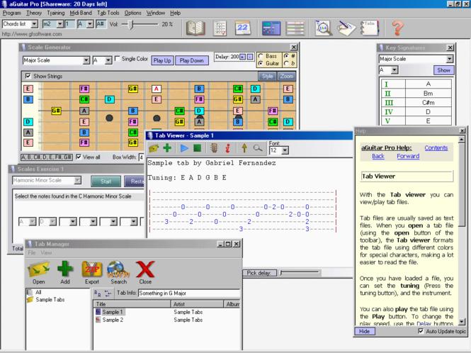 aGuitar Pro Screenshot 1