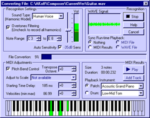 AKoff Music Composer Screenshot