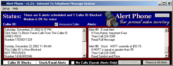 Alert Phone Screenshot 1