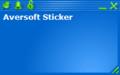 Aversoft Sticker 1
