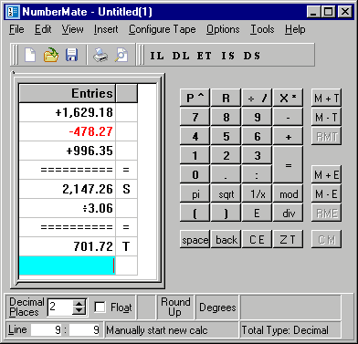 NumberMate Screenshot