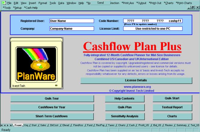 Cashflow Plan Super Screenshot 1