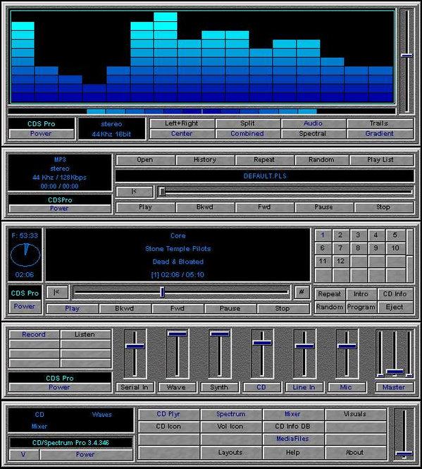 CD Spectrum Pro Screenshot