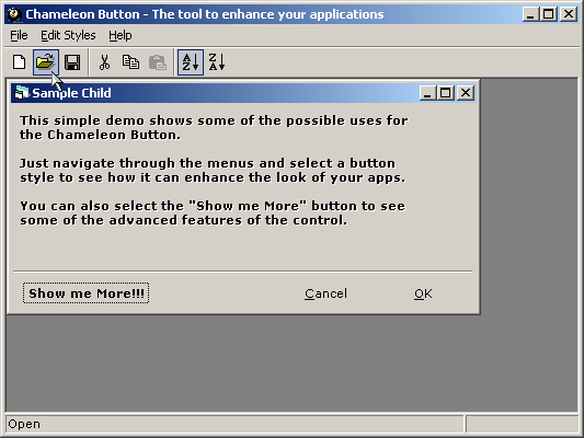 Chameleon Button Screenshot