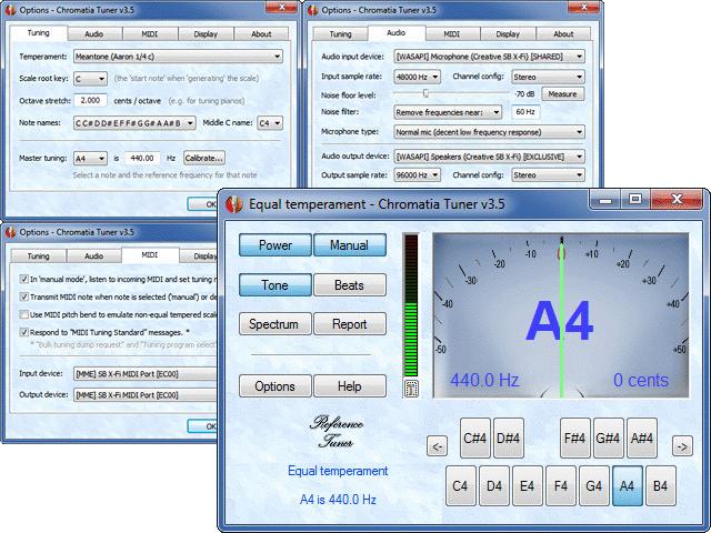 Chromatia Tuner Screenshot