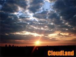 CloudLand Screensaver Screenshot