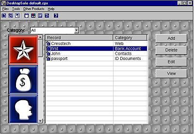 Cresotech DesktopSafe Lite Screenshot