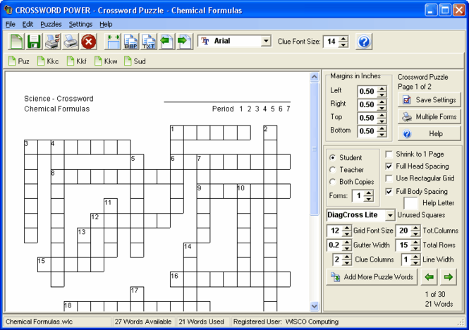 Crossword Power Screenshot