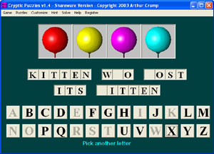 Cryptic Puzzles Screenshot