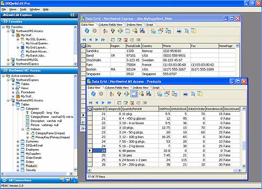 dbQwikEdit PRO Screenshot