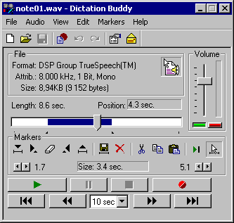 Dictation Buddy Screenshot