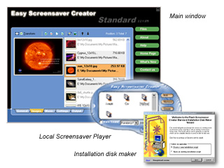 Easy Screensaver Creator-Standard Screenshot 1