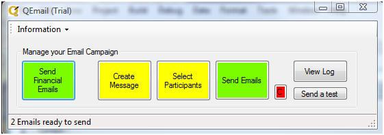QEmail Screenshot