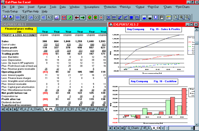 Exl-Plan Lite (US-C edition) Screenshot