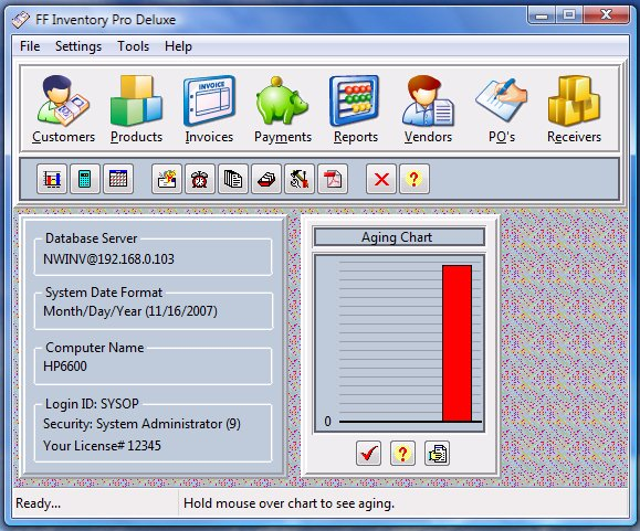 FF Network Billing Screenshot