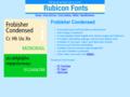 Frobisher Condensed Font TT 1