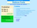 Frobisher Font TT 1