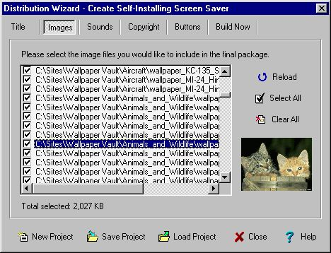 FX Saver Toolbox Professional Screenshot