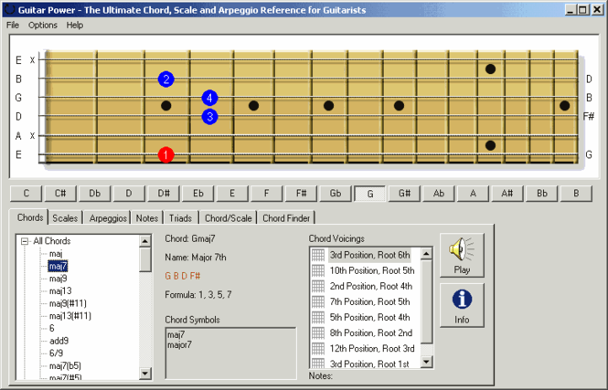 Guitar Power Screenshot