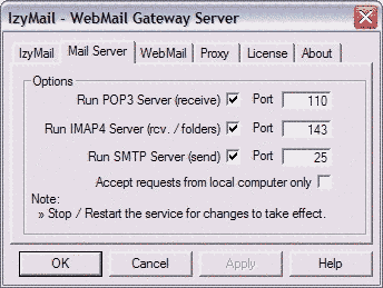 IzyMail Screenshot 1