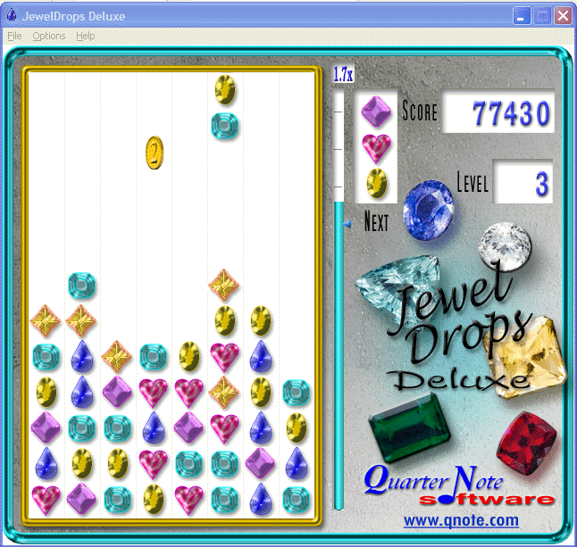 JewelDrops Deluxe Screenshot