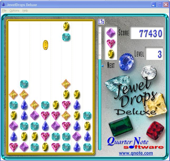 JewelDrops Deluxe Screenshot 1