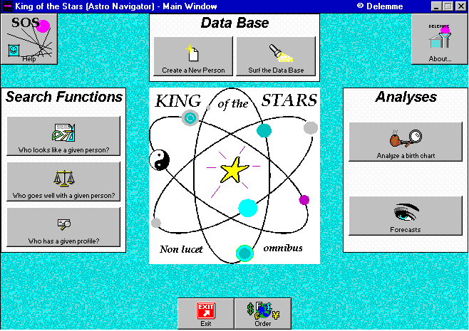 King of the Stars Screenshot 1