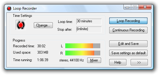 Loop Recorder Screenshot