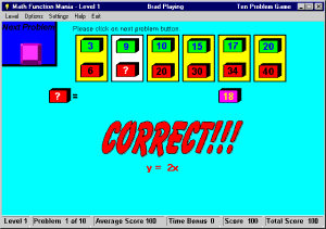 Math Function Mania Screenshot 1