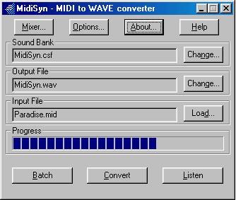 MidiSyn Screenshot 1